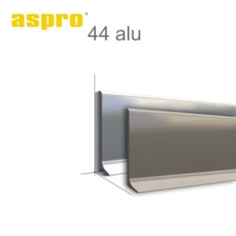 Плінтус алюмінієвий ALU44 44мм