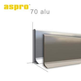 алюмінієвий плінтус ASPRO70